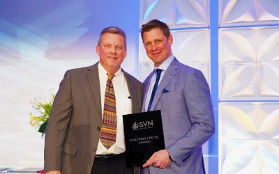 Tony Veldkamp, CCIM Accepted into the Prestigious SVN 'Partners Circle' for Outstanding Work in 2018