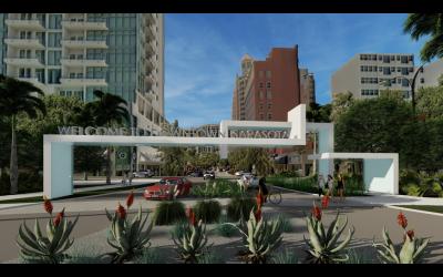 Downtown gateway sign plans progress