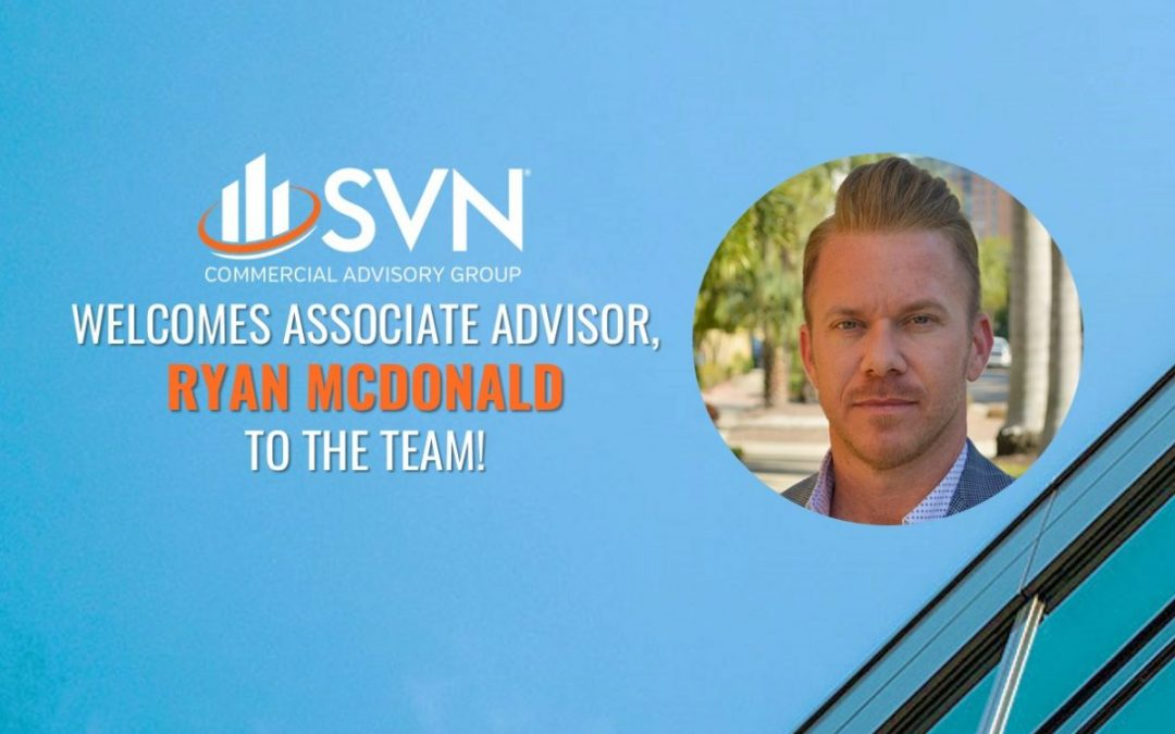 SVN Commercial Advisory Group Adds Multifamily and Land Development Specialist, Ryan McDonald