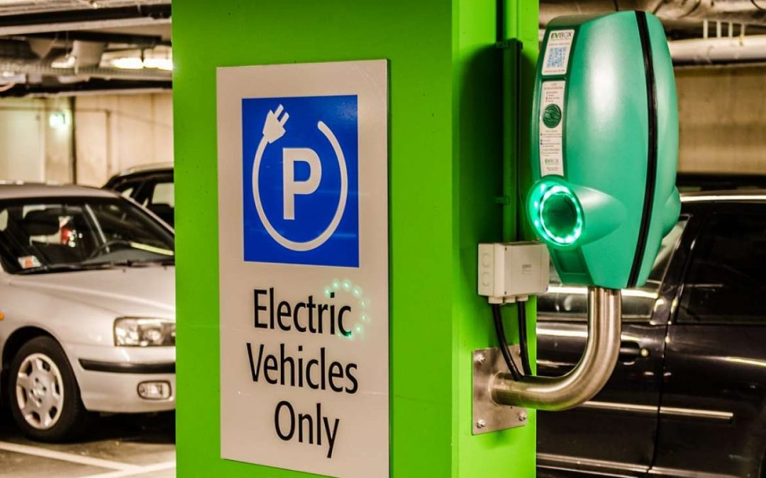 Electric Charging Stations Are the Biggest Trend in Parking Garages