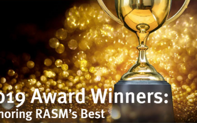 """Tony Veldkamp, Senior Advisor, Receives the Prestigious """"President's Award"""" from RASM for 2019"""